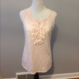 Loft light pink tank top.